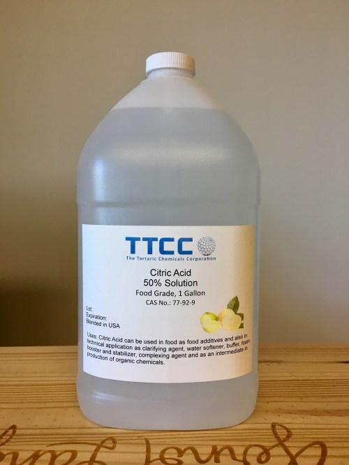 Medium Of Citric Acid Water Softener