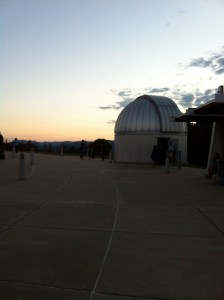Telescope at McDonald Observatory. Fort Davis, TX