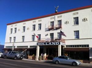 The Holland Hotel. Alpine.