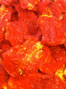 Sun-Dried Tomatoes ready for their close-up.