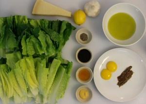 The Caesar Salad Ingredients