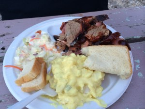 Steve's Dinner: Barbecue Plate