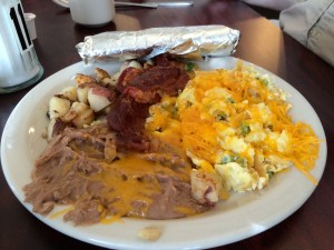 City Cafe Steve's Breakfast: Migas