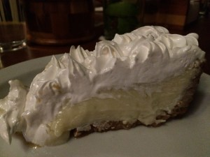 Key Lime Pie. Not Costa Rican, but the bite I had was really good.