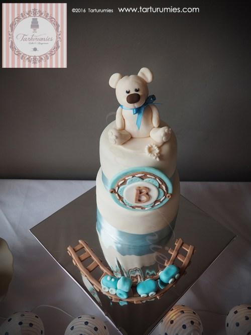 Sweet Table Baptism Teddy Bear by Tarturumies