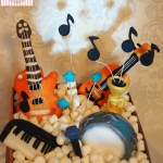 Cake Box of Musical Instruments