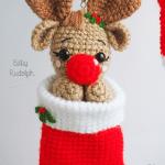 Reindeer Baby Rudolph by Tarturumies