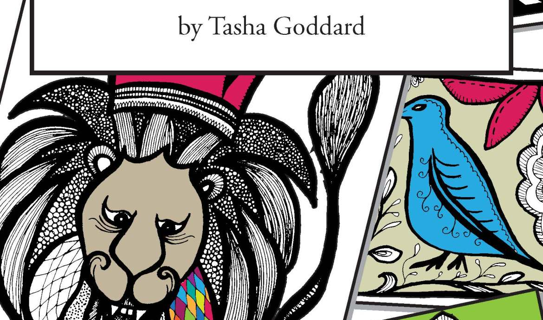 Inktober Colouring Book by Tasha Goddard | www.tashagoddard.com