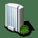 Fice Building Icon