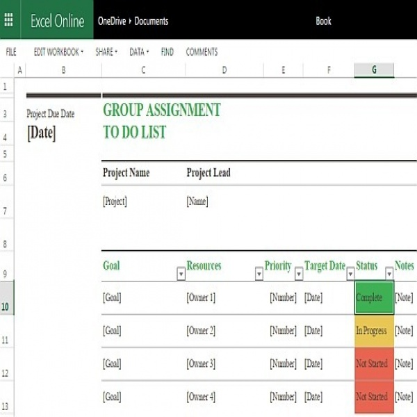 task list online task list templates - project to do list templates