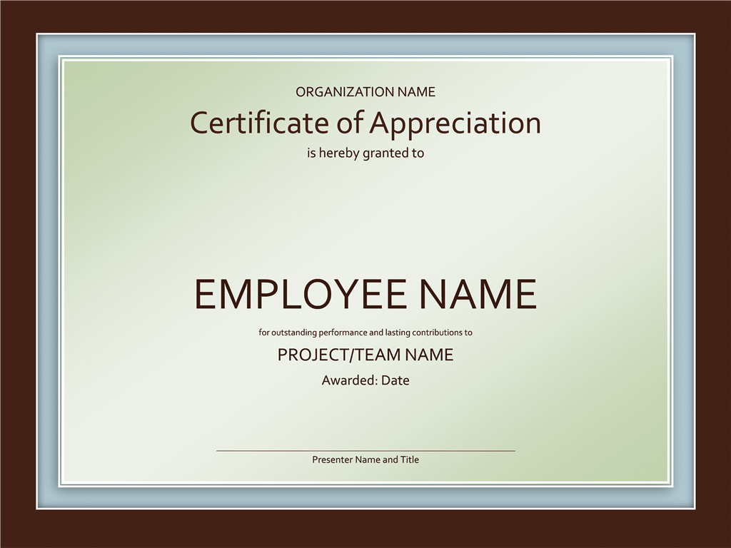 employee of the month certificates templates free
