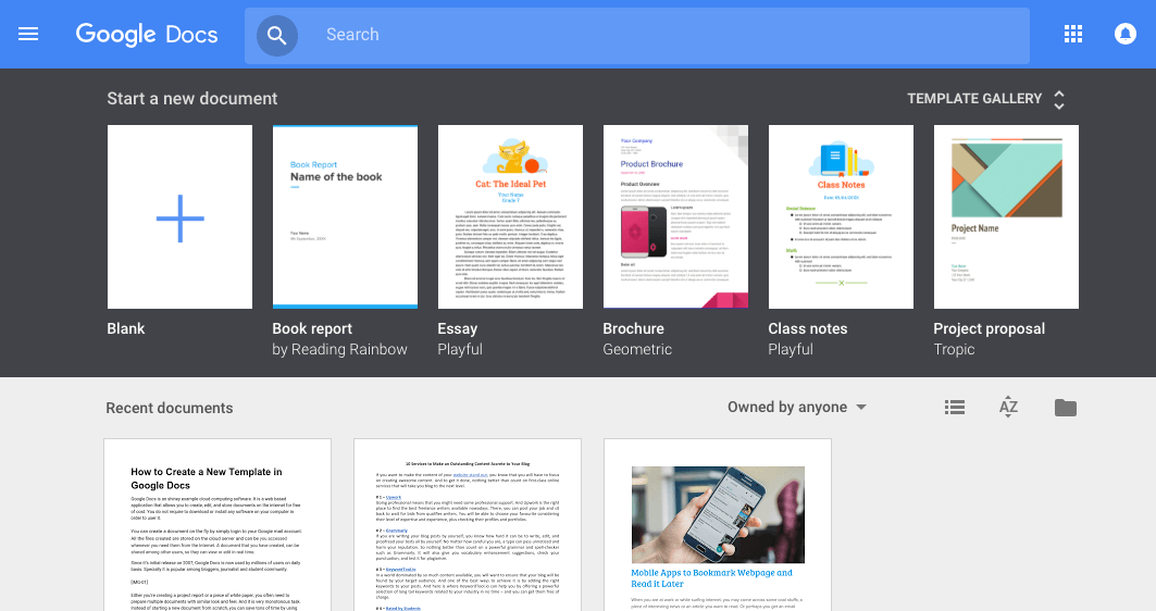 resume google doc template free