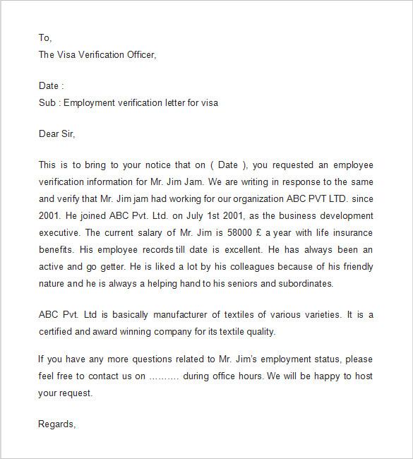 Employment Verification Letter Template Word task list templates