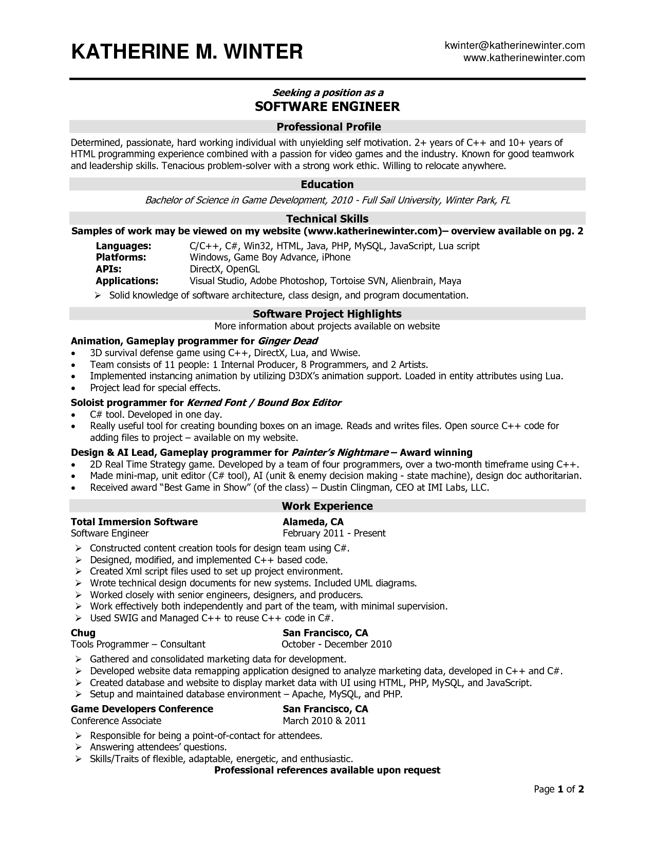 job naukri resume samples