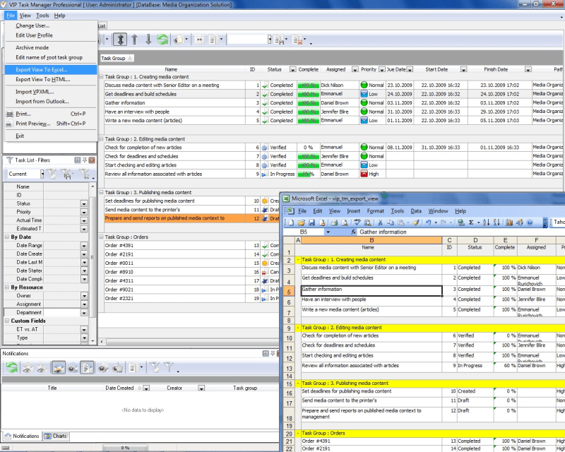 Excel Task Tracking Template. free template daily task tracker on ...
