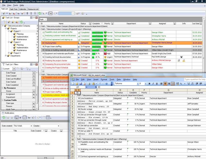 ms access employee schedule