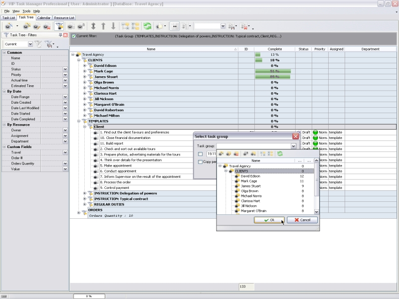 Weekly project planner \u2013 A software solution to plan, manage, track