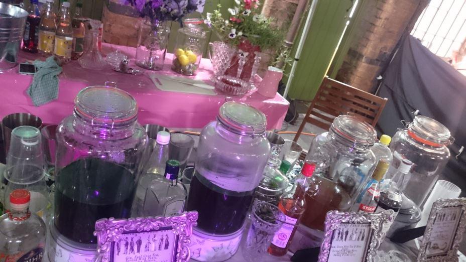 Taste and Liquor pop up bar