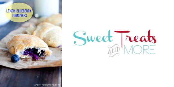 Lemon Blueberry Turnovers by Sweet Treats and More