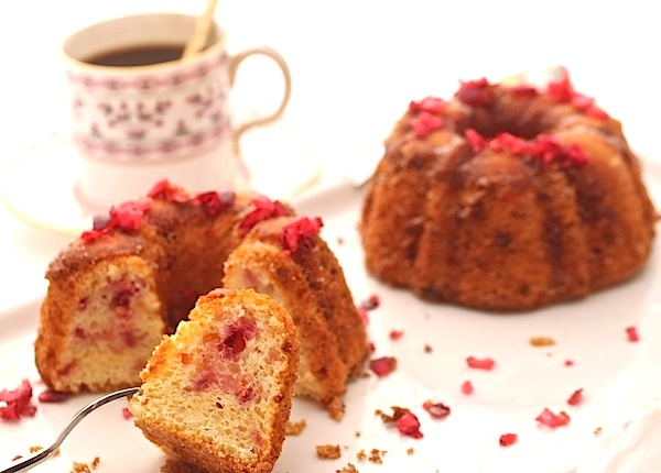 Cranberry-Orange Chiffon Cake - Taste Of Beirut