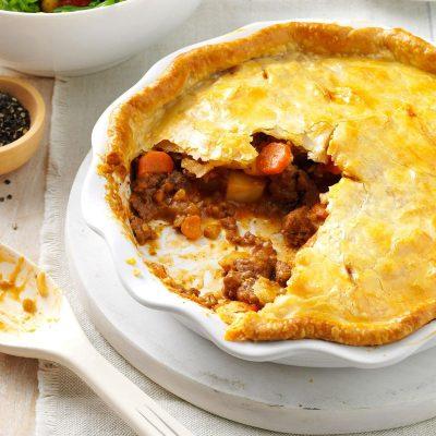 Tasty Meat Pie Recipe | Taste of Home