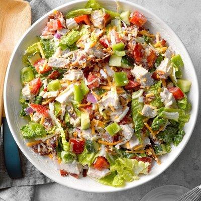 BLT Turkey Salad Recipe | Taste of Home
