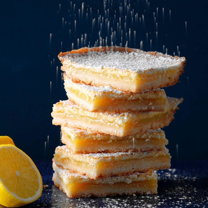 Bake-Sale Lemon Bars Recipe Taste of Home