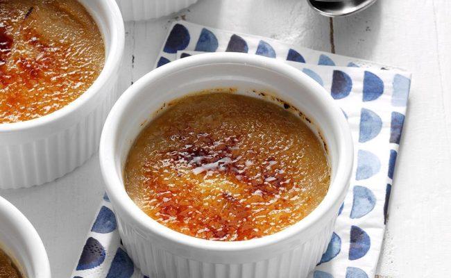 Caramel Apple Creme Brulee Recipe Taste Of Home