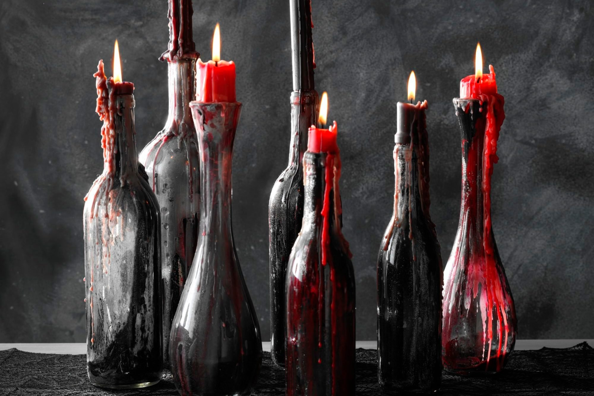 How To Make Spooky Easy Halloween Candle Holders Taste