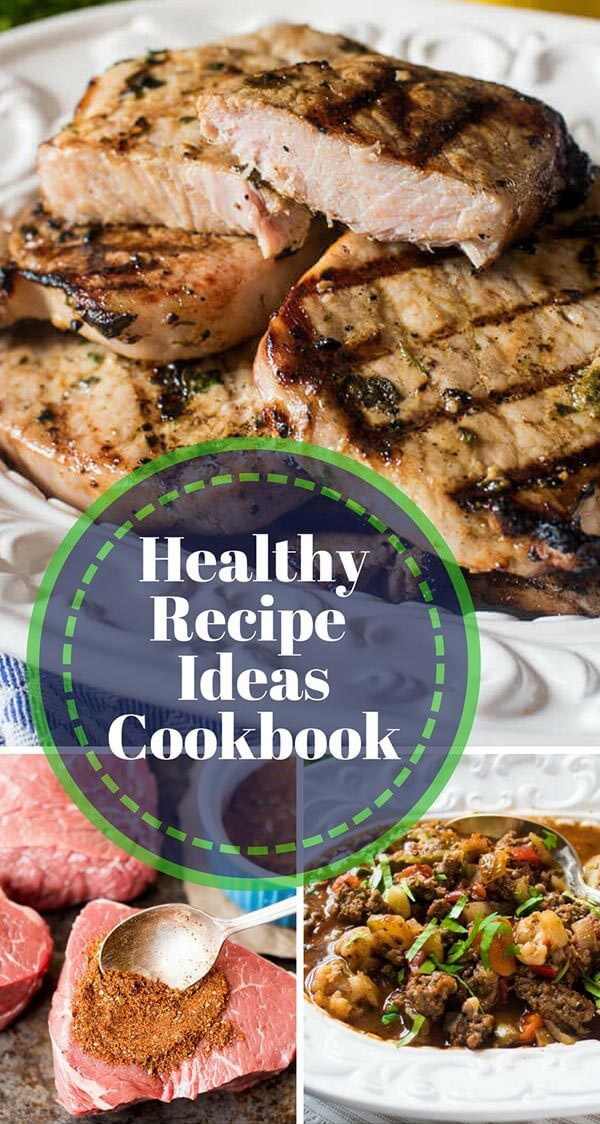 Healthy Dinner Recipes Cookbook {Paleo, Whole30, Gluten Free  More}