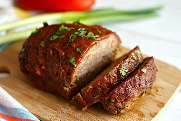 Smoked Meatloaf - {BBQ meatloaf} - Tasty Ever After