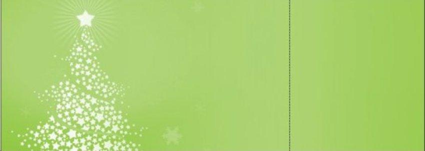 Green Christmas Tree Tickets by FreshTix Ticket Printing