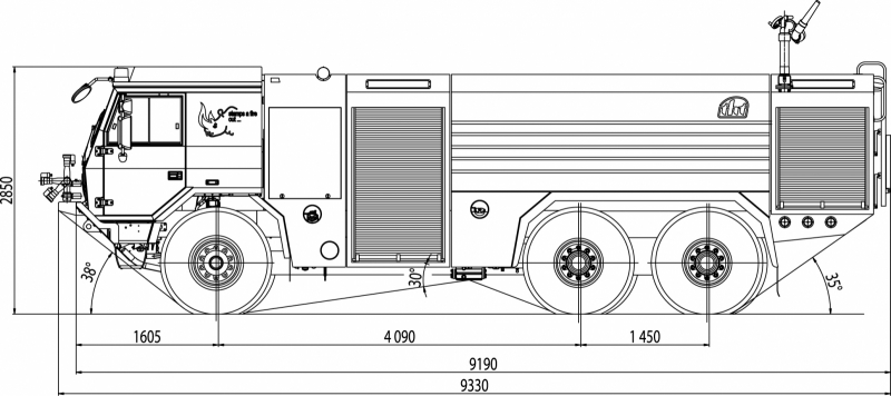 Fire Truck Dimensions Diagram - Wiring Diagram NL
