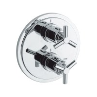 GROHE ATRIO Y Thermostat with integrated 2-way diverter ...