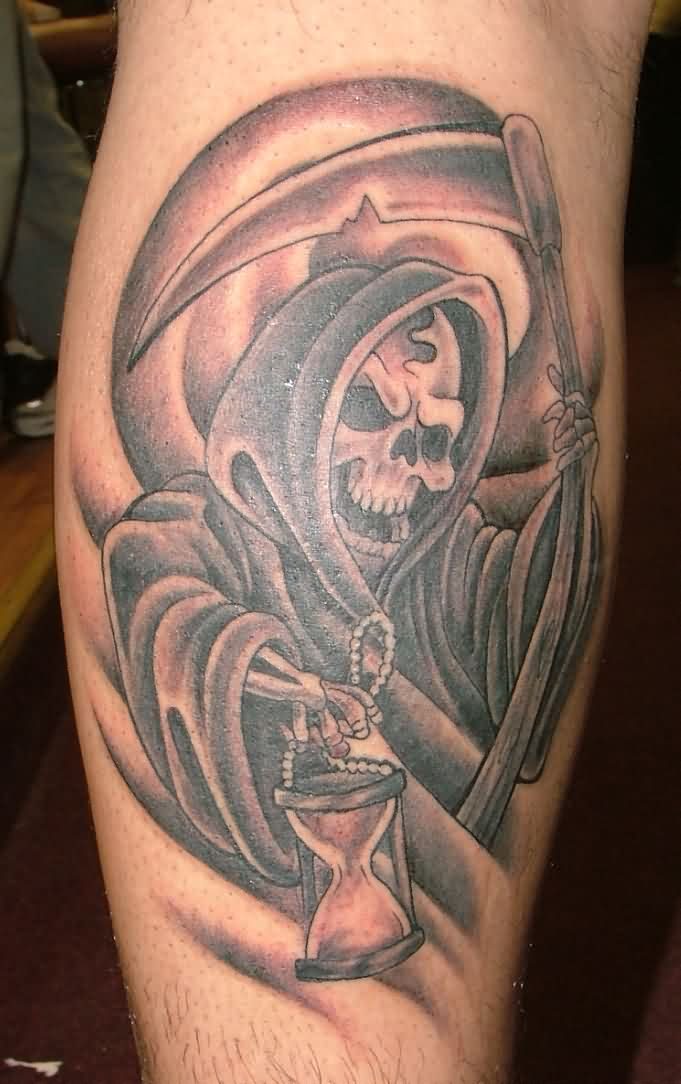Gallery for gt grim reaper forearm tattoos