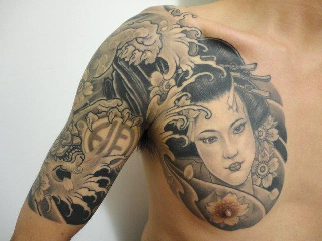 Wallpaper Girl New Photo Shoulder Japanese Women Tattoo By Orient Soul