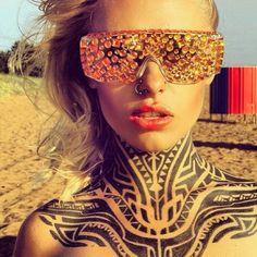 Beauty Body Girl Wallpaper Neck Tattoos Tattoo Insider