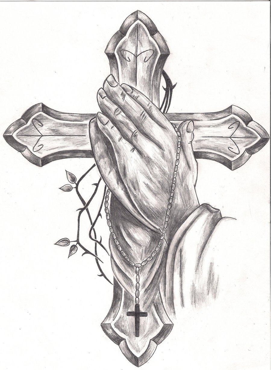 Praying hands tattoo designs