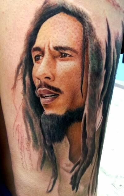 Smoking 3d Wallpaper Bob Marley Tattoos Designs Ideas And Meaning Tattoos