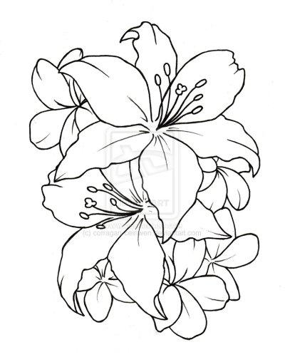 Simple Flower Tattoo Designs