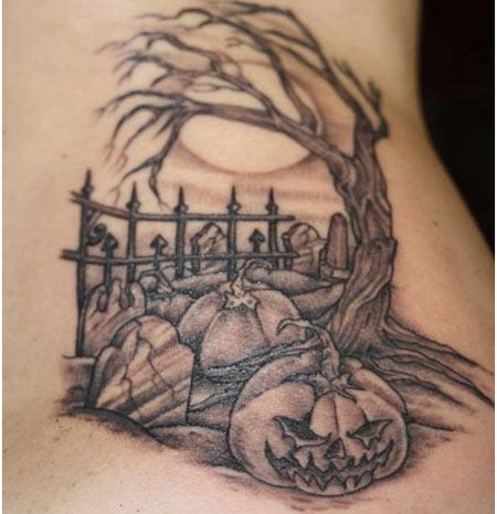 Girl Tattoo Wallpaper Eagle Graveyard Tattoo Images Amp Designs