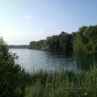 Tauchen im Kreidesee Hemmoor