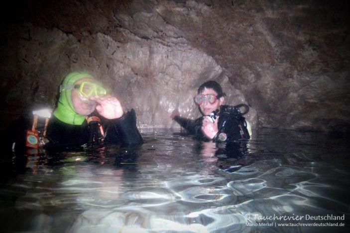 Marmorgrotte, Cala Ratjada, Mero-Diving