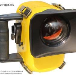 SONY-DCR-PC7, Unterwasser Gehäuse, Eigenbau, Historisches Tauchen
