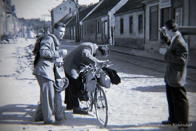 Tauchfreunde, Tauchen im Heinitzsee, Historisches Tauchen