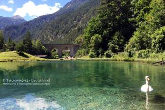 Fernsteinsee, Tauchen im Fernsteinsee, Tauchen im Samaranger See
