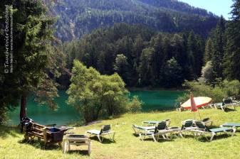 Liegewiese Samaranger See, Tauchen im Fernsteinsee, Tauchen im Samaranger See
