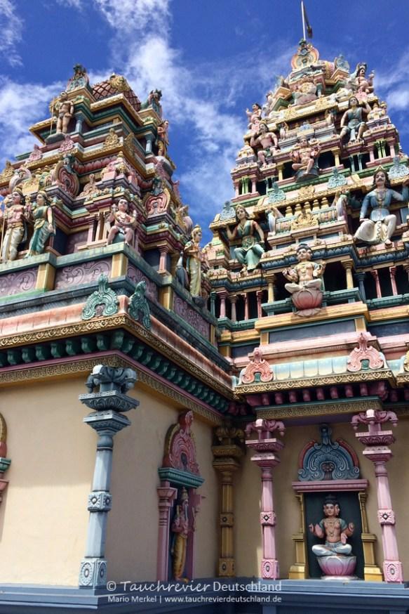 Hindu-Tempel, Tauchen auf Maurtius, Tauchrevier Deutschland auf Reisen