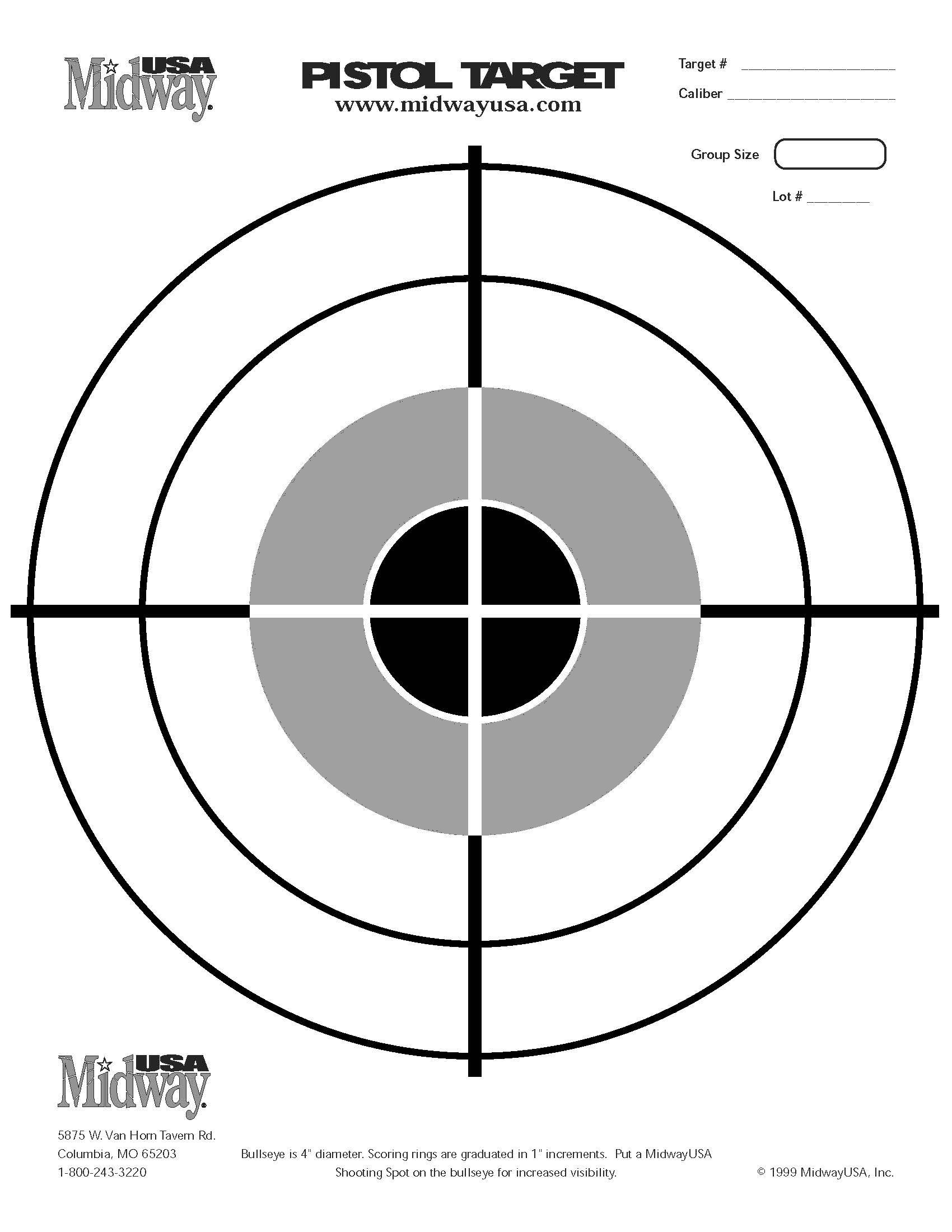 image regarding Printable Bullseye Target known as Printable Aims 85 X 11 Obtain Cv Style Europ