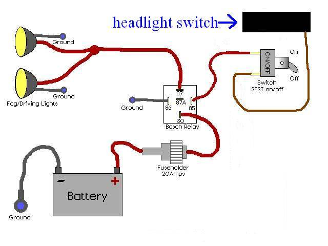 renault fog lights wiring diagram